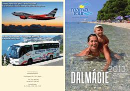 Letecká doprava do Splitu z Ostravy a Prahy Více informací v naší