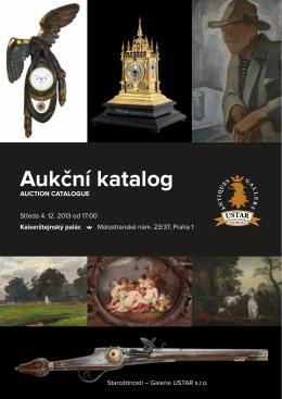 Aukční katalog