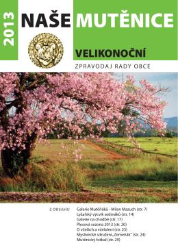 Zpravodaj 1-2013