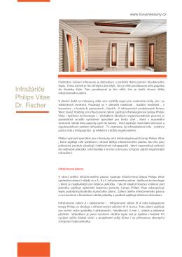 Infražiarič Philips Vitae