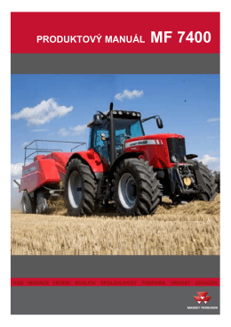 MF 7400 Product Book