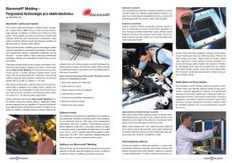Macromelt® Molding – Progresivní technologie pro elektrotechniku