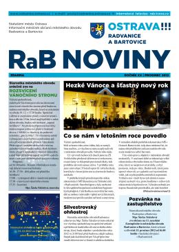 prOsiNec 2012 - Radvanice a Bartovice