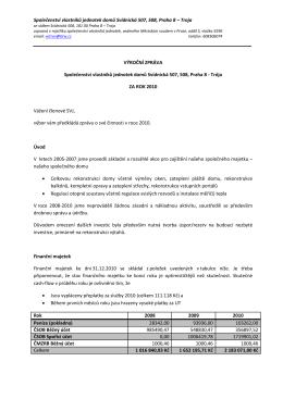 Společenství vlastníků jednotek domů Svídnická 507, 508