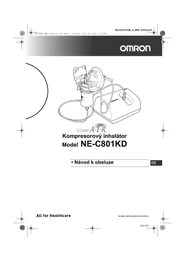 Model NE-C801KD - Omron Healthcare