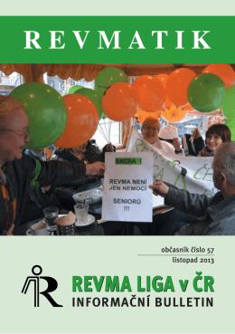 Revmatik č. 57 - Revma Liga v ČR