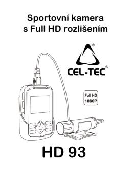 Návod k obsluze HD-93 - CEL-TEC