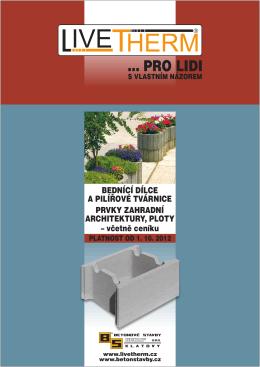 PRO LIDI - MASTR betonové konstrukce