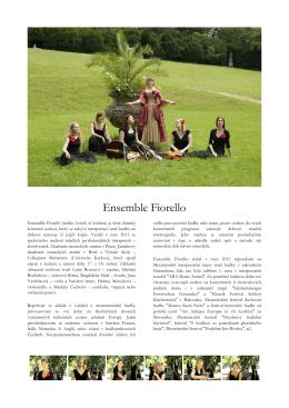 Stáhnout vše v PDF - ensemble fiorello