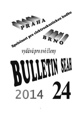Bulletin SEAH 24/2014