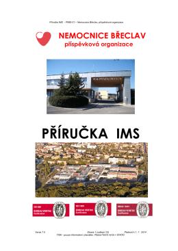 Příručka IMS - Nemocnice Břeclav