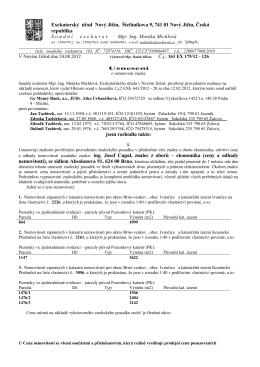 Exekutorský úřad Nový Jičín, Štefánikova 9, 741 01