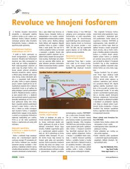 Revoluce ve hnojení fosforem
