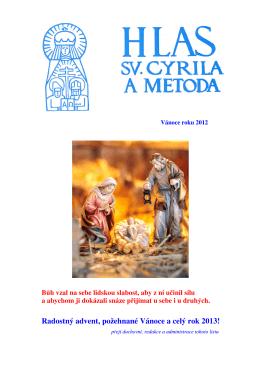 Hlas sv. Cyrila a Metoda - Vánoce 2012