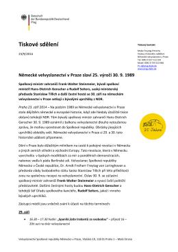 Medieninformation Xxx / 2014 Sächsische Staatsregierung