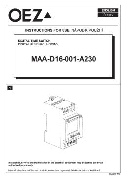 MAA-D16-001-A230
