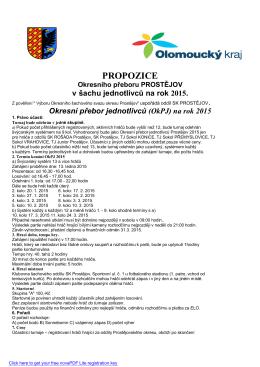 Okresní přebor jednotlivců (OkPJ) na rok 2015
