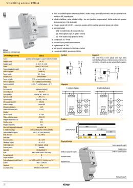 Schodišťový automat CRM-4