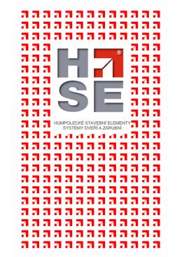 Katalog zárubní HSE
