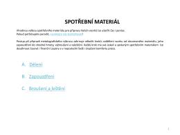 Přehledně o spotřebním materiálu firmy Buehler