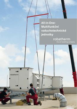 All-in-One: Multifunkční vzduchotechnické jednotky