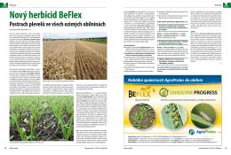 Nový herbicid BeFlex
