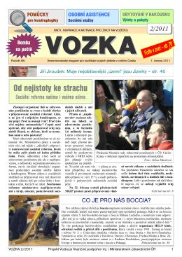 2/2011 - Magazín Vozka