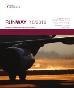 časopis RUNWAY 10/2012