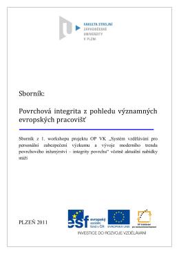 Sborník - Integrita - Západočeská univerzita v Plzni