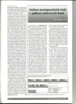 Článek Povrchové úpravy 04/2011