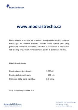 www.modrastrecha.cz
