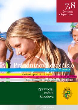 Prázdninové dvojčíslo - Kulturní a společenské středisko Chodov