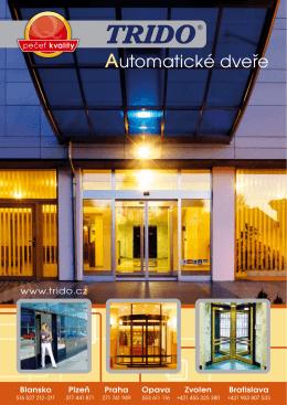 automatické dveře (formát .pdf)