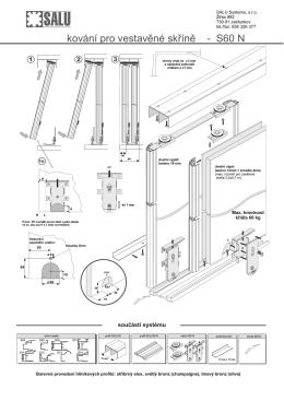 Montážní návod S60N