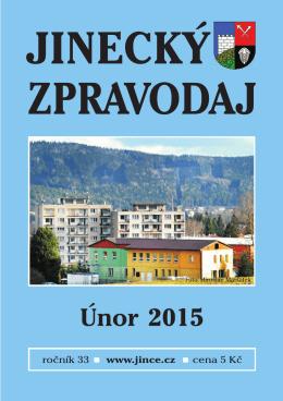 Jinecký zpravodaj - únor 2015