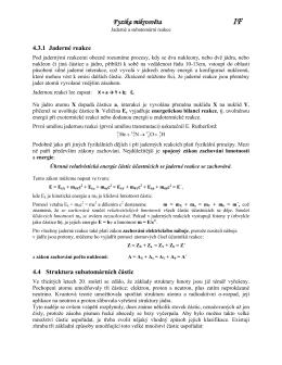Fyzika mikrosvěta