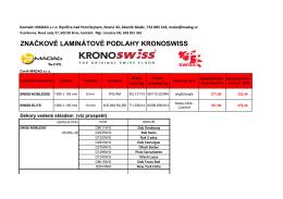 Aktuální ceník ke stažení v PDF