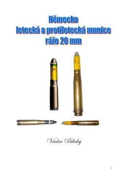 Německá válečná munice ráže 20 mm