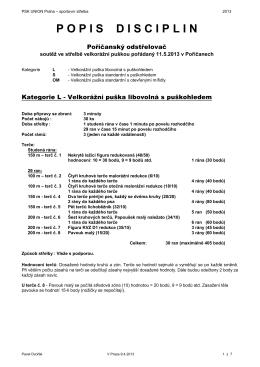 Velkorážní puška - PSK Union Praha