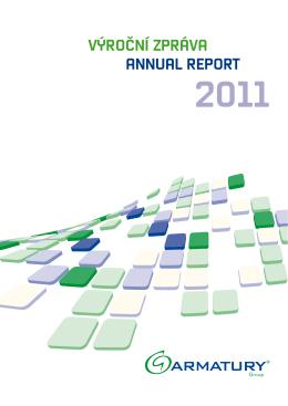 Výroční zpráva 2011 - ARMATURY Group a.s.