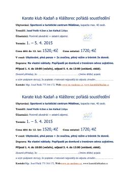 přihláška (pdf) - karateklubkadan.cz