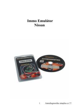 Immo Emulátor Nissan