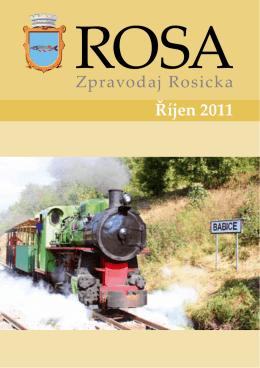 Říjen 2011 - ROSA