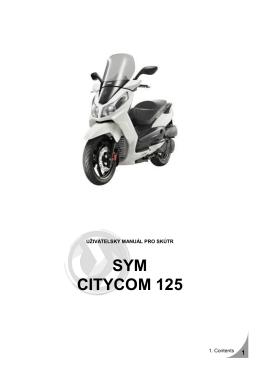 SYM CITYCOM 125