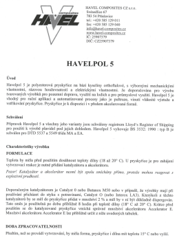 HAVELPOL 5.pdf - Havel Composites