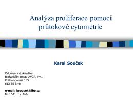 Analýza proliferace