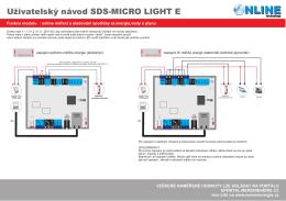 Zapojení optických vstupů S0 - odečet energií - Měření Energie