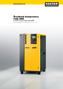 ASK 15–22 kW - Kaeser Kompressoren sro