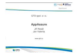 AppAssure - QTD spol. s ro