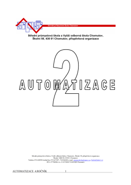 skripta Automatizace 2 pro A4 (pdf)